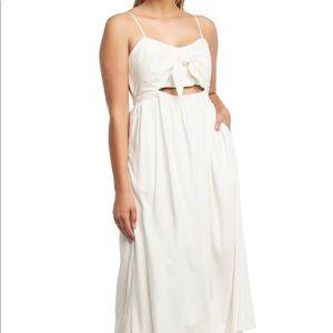 Bardot White Ibiza Dress